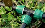 Из каких труб лучше сделать полив водоотведение для сада