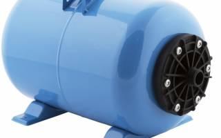 Схема водоснабжения дома от скважины с гидроаккумулятором и краном полива